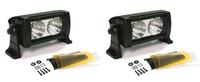 """Фара Wurton светодиодная Dual 5"""" дальний свет 2 шт. х 2 LED с фильтром"""