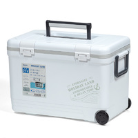 Термобокс SHINWA Holiday Land Cooler 27H белый
