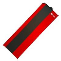 Коврик самонадувающийся BTrace Basic 4,183*51*3,8 см (Красный/Серый)