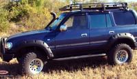 Расширители колёсных арок Toyota Land Cruiser 80 (130 мм)