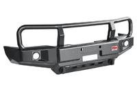 Бампер РИФ силовой передний Toyota Hilux 1983-1997 с доп. фарами и защитной дугой
