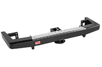 Бампер РИФ задний УАЗ Патриот 2015+ с квадратом под фаркоп, лифт 65 мм
