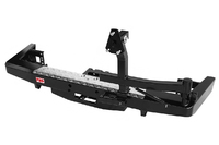 Бампер РИФ силовой задний УАЗ Патриот 2015+ с площадкой под лебедку и калиткой стандарт