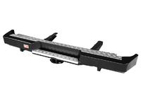 Бампер РИФ силовой задний ГАЗ Соболь с квадратом под фаркоп стандарт
