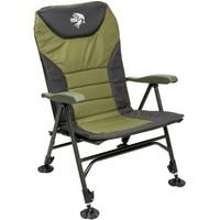 Кресло карповое УЛОВ с большими подлокотниками, регулируемое, до 130 кг