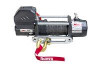Лебёдка электрическая 12V Magnum 9000 lbs 4200 кг (синтетический трос)