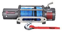 Лебёдка электрическая 12V Runva 9500 lbs 4350 кг (синтетический трос)