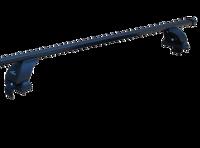 Багажник на крышу с дугами 1,3м прямоугольный в пластике  для Ford Edge 2013+