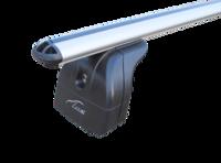 Багажник на крышу с дугами 1,1м аэро-классик (53мм) для Haval H6  (2014+) с интегр. рейл.