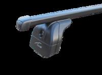 Багажник на крышу с дугами 1,1м  прямоугольными для  Haval H6  (2014+) с интегр. рейл.
