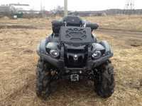 Вынос радиатора на Yamaha Grizzly 550/700(сталь) LitPro