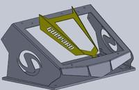 Вынос радиатора на Stels Guepard 650/800 LitPro