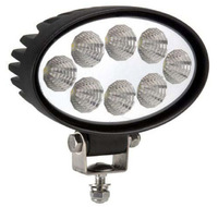 Фара водительского света РИФ 142х122х66 мм 24W LED