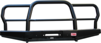 Бампер РИФ силовой передний УАЗ Хантер усиленный с трубной защитной дугой