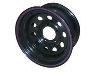 Диск Ленд Ровер стальной черный 5x165.1 8xR16 d125 ET-24