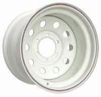 Диск усиленный Тойота Ниссан стальной белый 6x139,7 10xR15 d110 ET-44