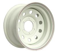 Диск усиленный Тойота Ниссан стальной белый 6x139,7 8xR15 d110 ET-3