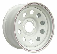 Диск усиленный Тойота Ниссан стальной белый 6x139,7 8xR17 d110 ET-0