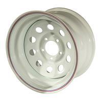 Диск УАЗ стальной белый 5x139,7 10xR15 d110 ET-44