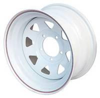 Диск усиленный УАЗ стальной белый 5x139,7 10xR15 d110 ET-44 (треуг.)