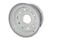 Диск усиленный УАЗ стальной белый 5x139,7 8xR16 d110 ET-19