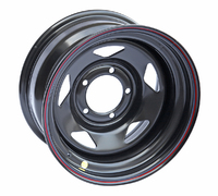 Диск усиленный УАЗ стальной черный 5x139,7 8xR16 d110 ET-19 (треуг.)
