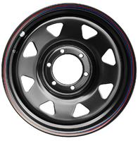 Диск Тойота Ниссан стальной черный 6x139,7 7xR17 d110 ET+30 (треуг. мелкий)