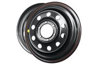 Диск усиленный Тойота Ниссан стальной черный 6x139,7 8xR18 d110 ET-25
