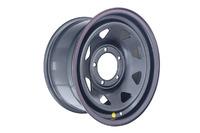 Диск усиленный УАЗ стальной черный 5x139,7 7xR16 d110 ET+15 (треуг. мелк.)