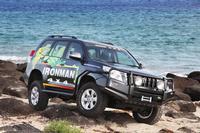Пороги Ironman с защитой крыльев для Toyota Hilux 2005-2014
