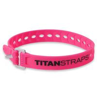 Ремень крепёжный TitanStraps Super Straps розовый L = 46 см (Dmax = 12,7 см, Dmin = 3,2 см)