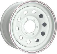 Диск усиленный Тойота Ниссан стальной белый 6x139,7 7xR16 d110 ET+30