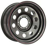 Диск усиленный Тойота Ниссан стальной черный 6x139,7 7xR16 d110 ET+30