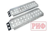 Сенд-траки (аппарели) РИФ 148x48 см 2 т алюминиевые усиленные (2 шт.)