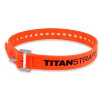 Ремень крепёжный TitanStraps Industrial оранжевый L = 64 см (Dmax = 18 см, Dmin = 5,5 см)
