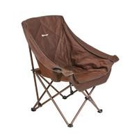Кресло NISUS складное (коричневый)
