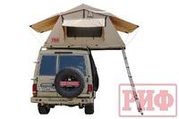 Палатка на крышу автомобиля РИФ Soft RT01-140, тент песочный