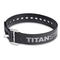 Ремень крепёжный TitanStraps Industrial черный L = 51 см (Dmax = 14,15 см, Dmin = 5,5 см)