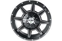 Диск Тойота Ленд Крузер 100/200 литой черный 5x150 8,5xR17 d110 ET+30