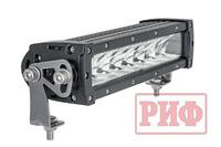 Фара светодиодная дальнего света РИФ 258 мм 80W