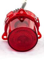 Фонарь заднего бампера РИФ красный