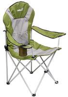 Кресло складное Helios зеленый/темно-зеленый ромб