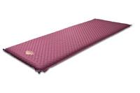 Коврик самонадувающийся ALEXIKA ALPINE PLUS 80 burgundy red, 198x76x7,5 см. (Красный)