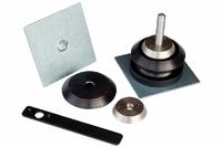 Кронштейны для крепления сенд-траков РИФ (2 шт.) с ключом