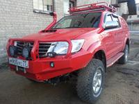 Багажник (корзина) РИФ 1200х1400 мм для Toyota Hilux 2005-2014