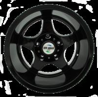 Диск УАЗ литой черный 5x139,7 10xR16 d110 ET-44