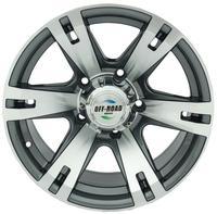 Диск УАЗ литой серый 5x139,7 8xR16 d110 ET-20