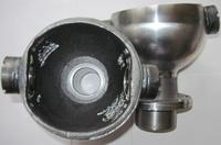 Шаровая опора поворотного кулака усиленная кастор +5° хромированная мост Спайсер (к-т 2 шт.)