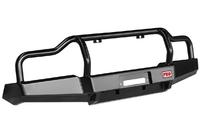 Бампер РИФ передний УАЗ Буханка усиленный, c площадкой под лебёдку, с низкой защитной дугой стандарт