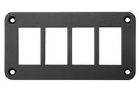 Панель кнопок монтажная четыре отверстия